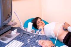 scan ultradźwiękowej 4 d Zdjęcia Royalty Free
