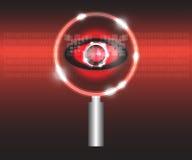 Scan virus Royalty Free Stock Image