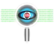 Scan virus Stock Image