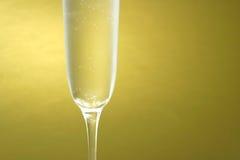 Scanalatura di Champagne Fotografia Stock Libera da Diritti