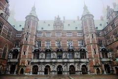 Scanalatura di Frederiksborg (castello) Fotografia Stock Libera da Diritti