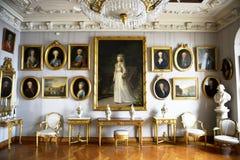 Scanalatura di Frederiksborg (castello) le pitture Fotografie Stock
