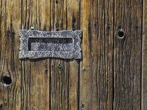 Scanalatura di posta antica Immagini Stock Libere da Diritti