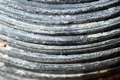 Scanalature dell'argilla Fotografia Stock