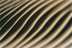 Scanalature in sabbia Immagini Stock