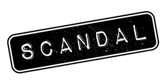 Scandal rubber stamp Royalty Free Stock Photography