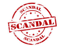 Scandal Royalty Free Stock Images