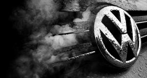 Scandalo di frode di Volkswagen fotografia stock