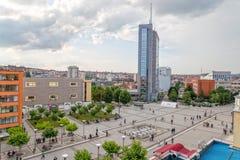 Scanderbeg kwadrat Pristina Obraz Stock