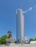 Scanderbeg statua Pristina Fotografia Royalty Free