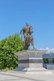Scanderbeg statua Pristina Obrazy Stock