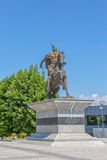 Scanderbeg statue Pristina Stock Images