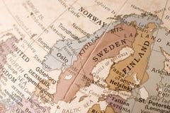 Scandinavië Stock Foto