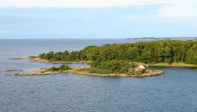 Scandinavia. Aland island, traditional architecture Stock Image