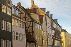 Scandinavia architecture. Style, Copenhagen, Denmark Stock Photos