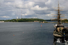 Scandinavia - boat Stock Image