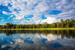 Scandinavia lake Royalty Free Stock Photography