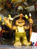 Scandinavia snouvenir ugly troll Royalty Free Stock Photo