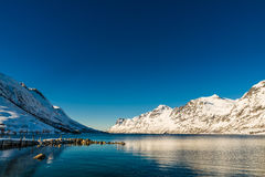 Scandinavia in winter Royalty Free Stock Images