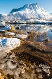 Scandinavia in winter Stock Image