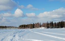 scandinavia wiosna Zdjęcia Royalty Free