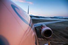 Scandinavian Airlines stock image