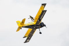 Scandinavian airshow - Catwalk stock images