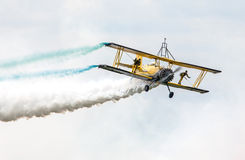 Scandinavian airshow - Catwalk royalty free stock photography