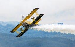 Scandinavian airshow - Catwalk Stock Image