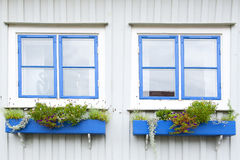 Scandinavian architecture Royalty Free Stock Photography
