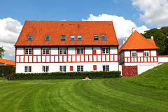 Scandinavian architecture, castle Stock Photography