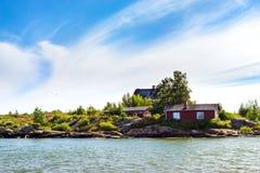 Scandinavian architecture in Helsinki, Finland Royalty Free Stock Image