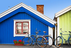 Scandinavian architecture Stock Photos