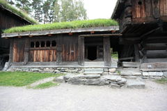 Scandinavian barn Royalty Free Stock Photography