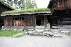Scandinavian barn Royalty Free Stock Photography