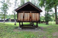 Scandinavian barn Royalty Free Stock Images