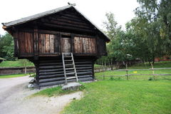 Scandinavian barn Royalty Free Stock Photos
