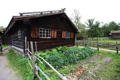 Scandinavian barn Stock Images