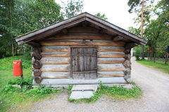 Scandinavian barn Stock Photography