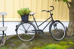 Scandinavian bicycle Stock Photo