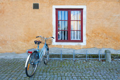 Scandinavian bicycle Stock Images
