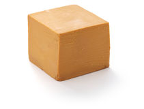 Scandinavian brown cheese Royalty Free Stock Photography