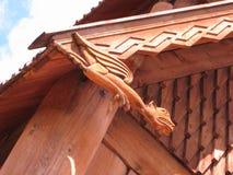 Scandinavian Carving Royalty Free Stock Photos