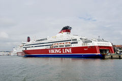 Scandinavian cruise sea ferry Stock Photo