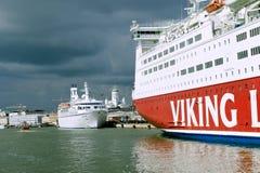 Scandinavian cruise sea ferry Stock Photo