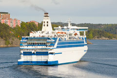 Scandinavian cruise ship Royalty Free Stock Photo