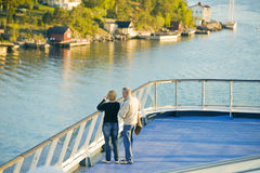 Scandinavian cruise ship Royalty Free Stock Images
