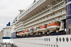 Scandinavian cruise ship Royalty Free Stock Photos