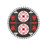 Scandinavian decorative background Stock Image