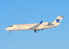 scandinavian för sas för trafikflygplanflygbolag kommersiell Royaltyfria Foton